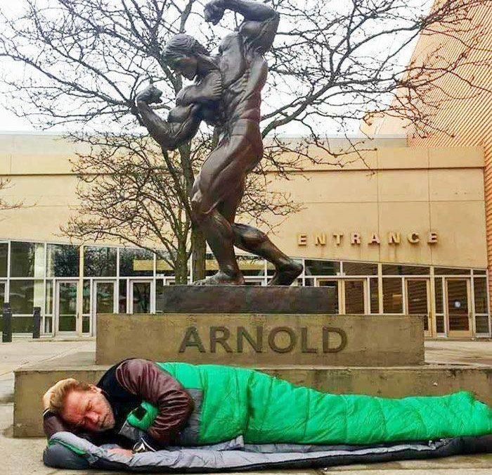 Paradoxos da vida de Arnold Schwarzenegger